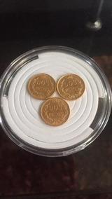 Monedas De Oro 2 Pesos 1945 (3 Piezas)