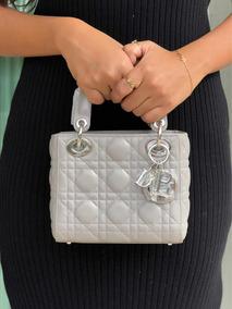 Bolsa Dior Lady - Cinza