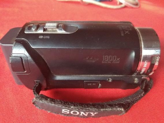 Filmadora Sony Handycam Sx21 Para Retirada De Peças