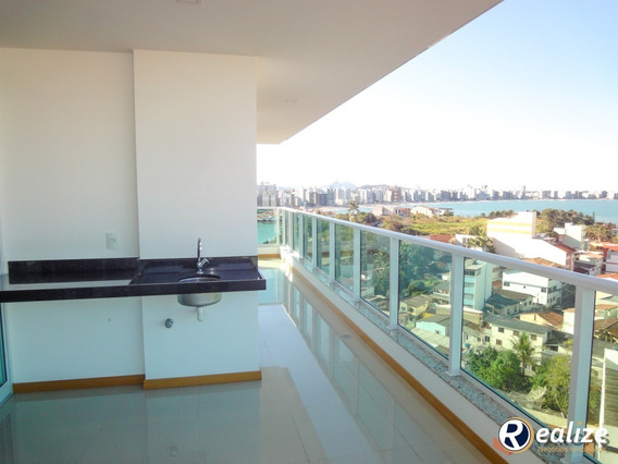 Apartamento De 3 Quartos Com Excelente Vista Para A Cidade De Guarapari - Ap00136 - 33613581