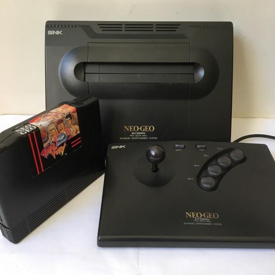 Neo Geo Aes Snk Primeira Revisão De Placa - Imagem Rgb Ótima