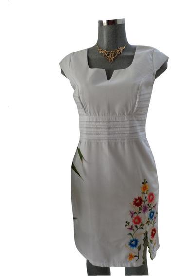 Vestido Tipico De Yucatán Merida Lino
