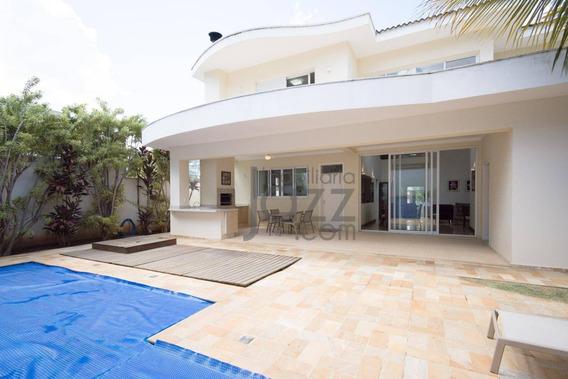 Casa Residencial À Venda, Alphaville Dom Pedro, Campinas. - Ca3347