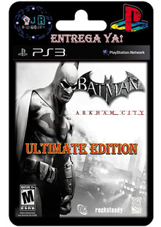 Batman Arkham City Ultimate Edition Ps3