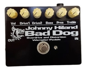Pedal Overdrive Distortion Wampler Johnny Hiland Bad Dog