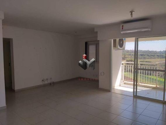 Apartamento Com 3 Dormitórios Para Alugar, 81 M² Por R$ 1.500/mês - Edifício Praças Do Golf Vila Do Golf - Ribeirão Preto/sp - Ap1781