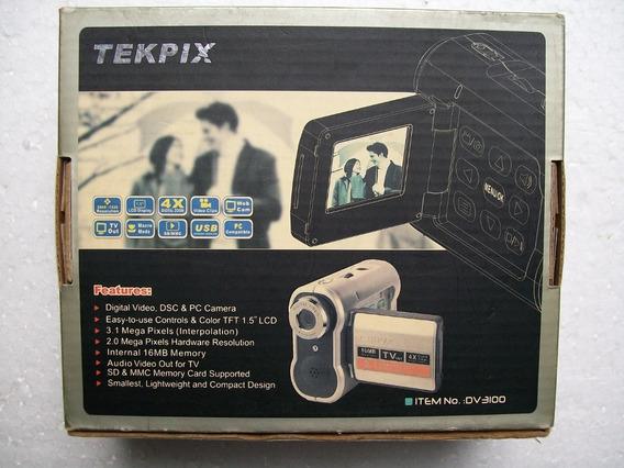 Câmera Digital Tekpix Dv3100 Antiga