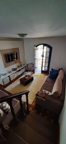 Imagem 1 de 26 de Sobrado Com 3 Dormitórios À Venda, 235 M² Por R$ 750.000 - Vila Marlene - São Bernardo Do Campo/sp - So0807