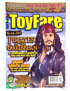 Revista Wizard Especial Toys Piratas Del Caribe