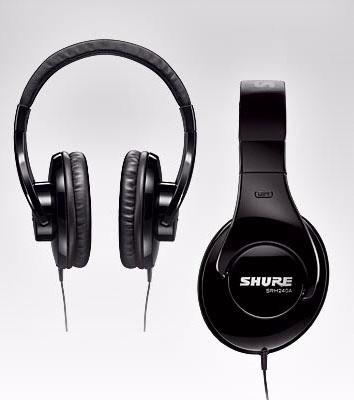 Fone Shure Srh240a Profissional Estéreo