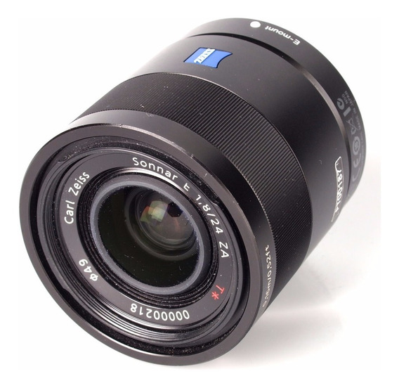 Lente Sony 24mm F/1.8 Za E-mount Carl Zeiss Sonnar T*