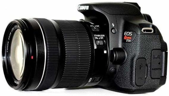 Câmera Canon T5i + Lente 18 - 55mm