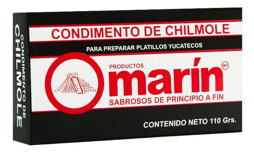 Condimento De Chilmole De 100 G