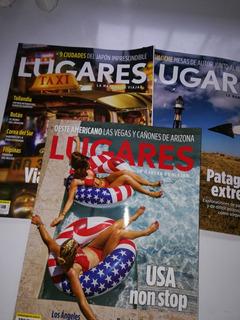 Tres Revistas Lugares - La Manera De Viajar