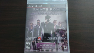 Saints Row The Third The Full Package Ps3 Nuevo Sellado