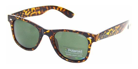 Óculos De Sol Polaroid 1016 E 6009 Quadrado