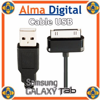 Cable Usb Cargador Sincronizador Datos Samsung Galaxy Tab