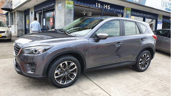 Mazda Cx5 Grand Touring Skyactiv Gris 2016
