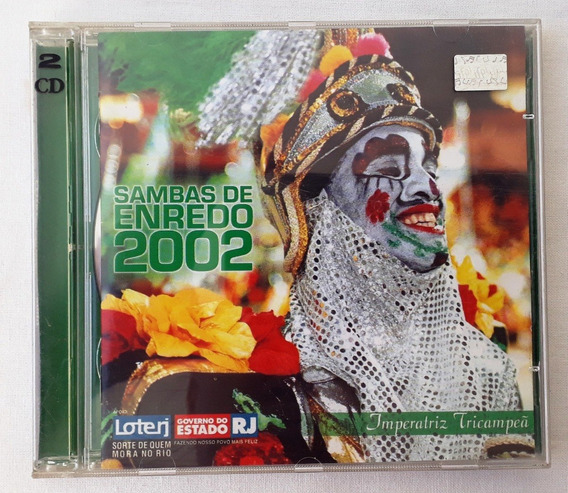 Cd Original De Samba De Enredo 2002.música Brasilera.