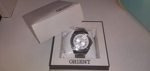 Relógio Analógico Orient Prateado Promocional Honda