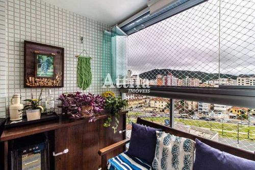 Imagem 1 de 25 de Apartamento Com 2 Dorms, Pompéia, Santos - R$ 800 Mil, Cod: 3148 - V3148