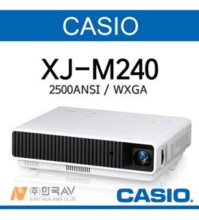 Proyector Casio Laser Hibryd Xj-m240 Wxga 2500 Ansi 3d Hdmi