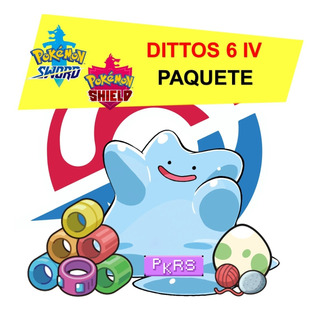 Pack Ditto Shiny (jap/shiny/6ivs+items) Pokemon Sword Shield