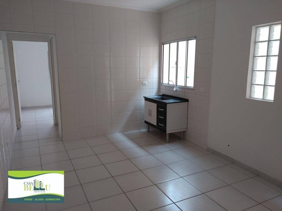 Casa Com 2 Dormitórios Para Alugar, 40 M² Por R$ 750/mês - Companhia Fazenda Belém - Franco Da Rocha/sp - Ca0370