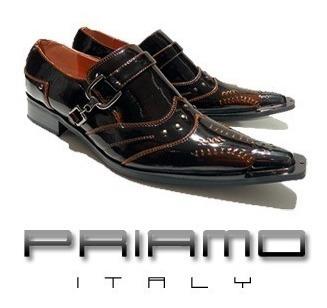 Ultimo Zapato T/41 Punta Metalica Priamo Italy Hombre