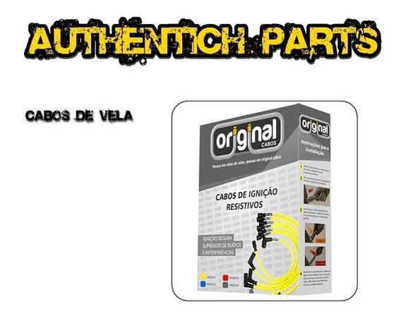 Jogo De Cabos De Vela 8mm Renault Scenic 2.0 8v 97 Em Diante
