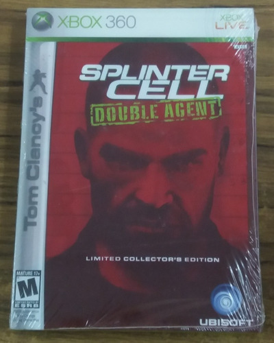 Splinter Cell: Double Agent. Limited Edition. Xbox 360.