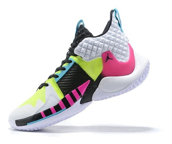 Tênis Jordan Why Not Zer0.2 Andre Agassi - Multi Cores