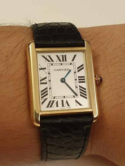 Relógio Cartier Tank Solo Original