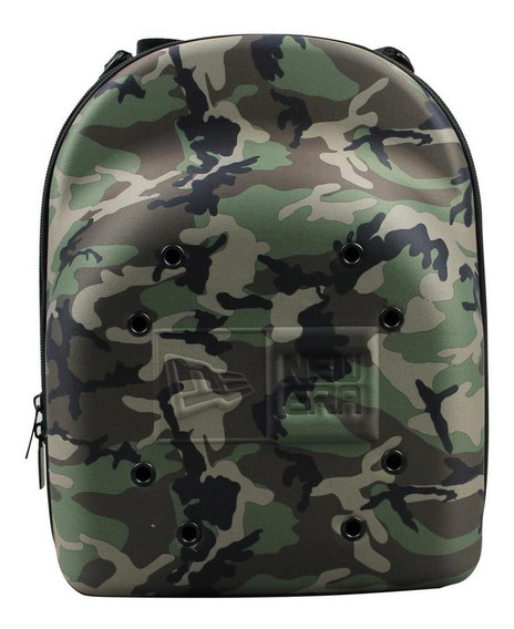 Porta Gorras New Era Carrier 6 Pack Woodcamo Verde Unitalla