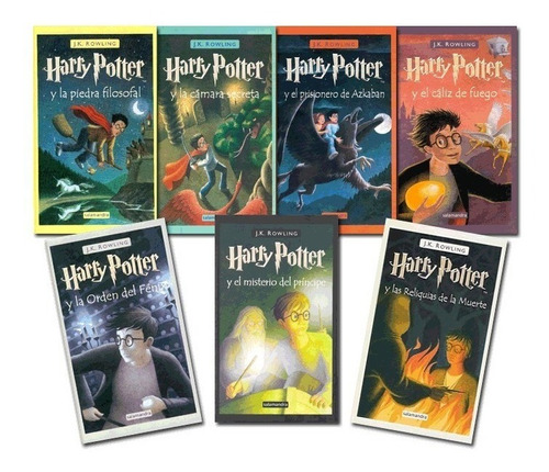 Saga Completa Harry Potter (7 Libros)