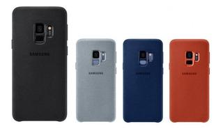 Capa Case Original Samsung Galaxy S9 Alcantara + Pel De Gel