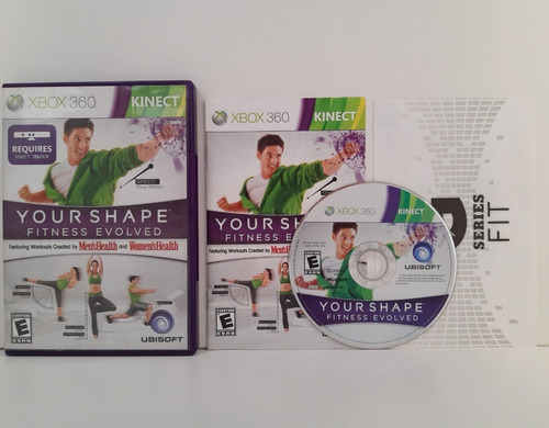 Your Shape Fitness Evolved Xbox 360 Completo Original