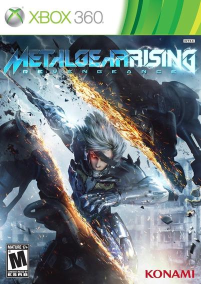 Jogo Metal Gear Rising Revengeance - Xbox 360 - Midia Física
