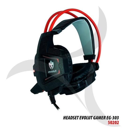 Headset Gamer Evolut Eg-303