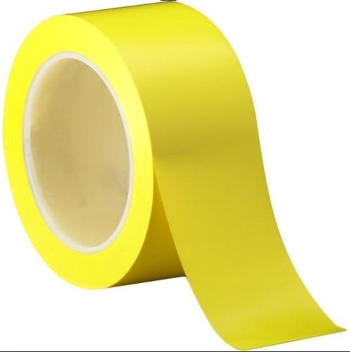 Banda Pvc Adhesiva Amarilla Demarcación Áreas Ancho 5cm