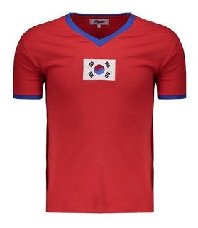 Camisa Coreia Do Sul 1970 Retrô