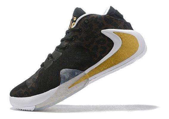Tênis Nike Zoom Freak 1 Coming To America - Preto/dourado