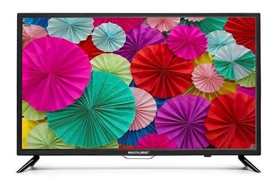 Smart Tv Led 32 Polegadas Multilaser Tl002 Hd 2 Usb 3 Hdmi