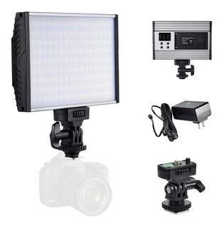 Kit Iluminação Led Para Fotografia E Video Led - Zecti 144
