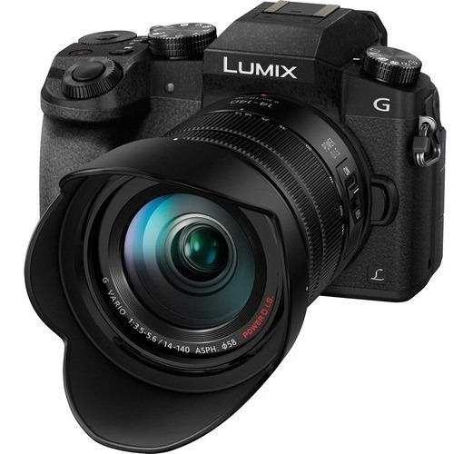 Panasonic G7 Lumix G Vario 14-140mm F/3.5-5.6 4k * Usd1000