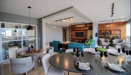 Imagem 1 de 11 de Apartamento Com 4 Suítesà Venda, 164 M² - Vila Romana - São Paulo/sp - Ap3357