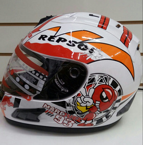 Capacete Repsol Mdb Marquez 93 Com 2 Visiras