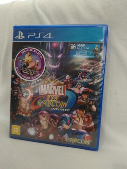 Marvel Vs Capcom Infinite Ps4 Mídia Física Lacrado