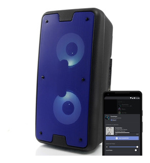 Caixa Som Portátil Amplificada Bluetooth Recarregavel E22