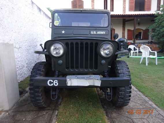 Jeep Willys 1951, Motor 4cc De Opala, Ipva 2019 Pg